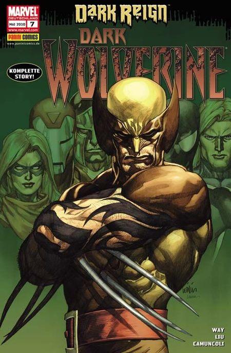 Wolverine 7: Dark Wolverine - Das Cover