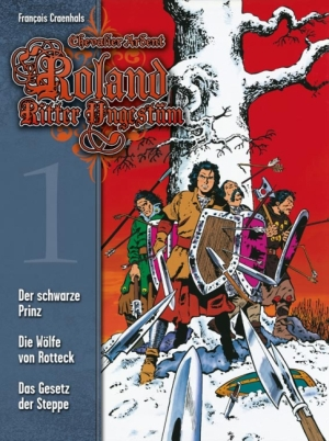 Roland, Ritter Ungestüm 1 - Das Cover