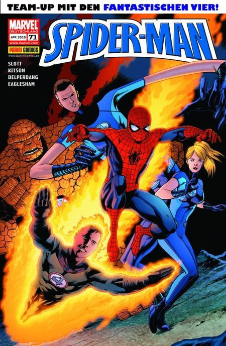 Spider-Man 71 - Das Cover