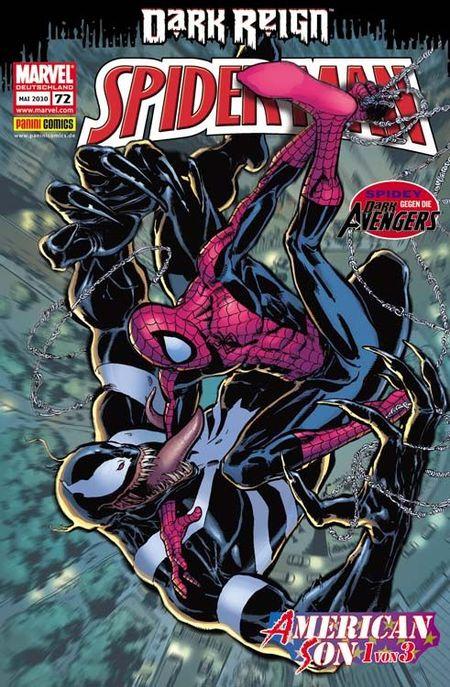 Spider-Man 72 - Das Cover