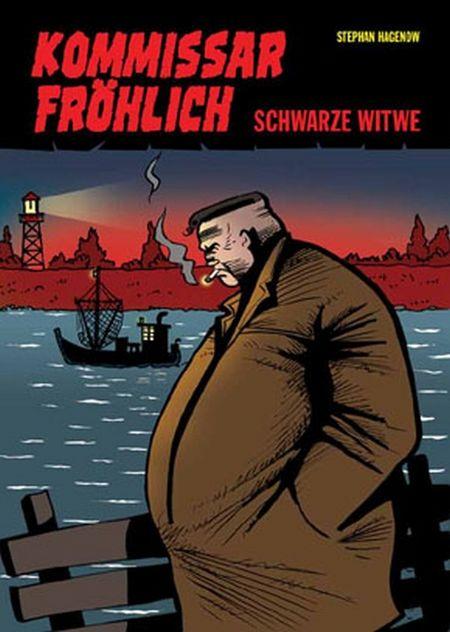 Kommissar Fröhlich 2: Schwarze Witwe - Das Cover