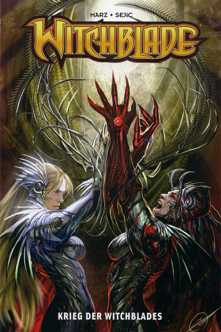Witchblade 3: Krieg der Witchblades - Das Cover