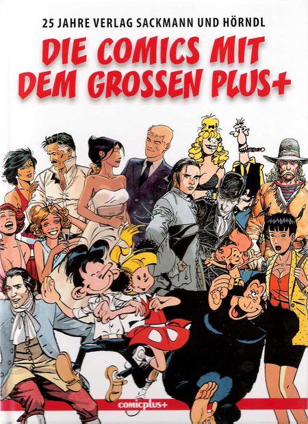 Die Comics mit dem grossen Plus+ - Das Cover