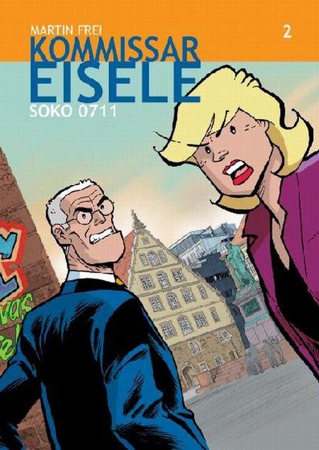 Kommissar Eisele 2: SOKO 0711 - Das Cover