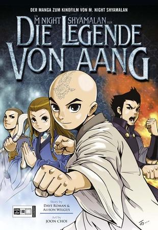 Die Legende von Aang: Manga - Das Cover