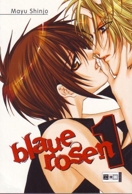Blaue Rosen 1 - Das Cover