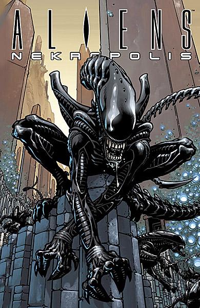 Aliens Nekropolis - Das Cover