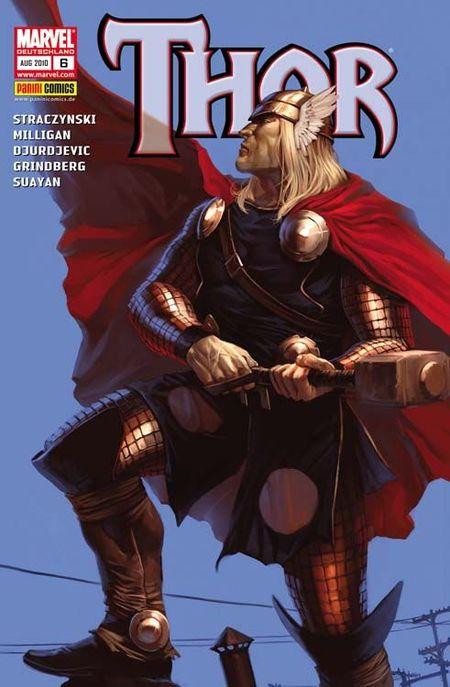 Thor 6: Die Hand von Grog - Das Cover