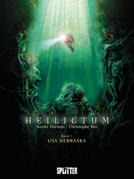 Heiligtum 1: USS Nebraska - Das Cover