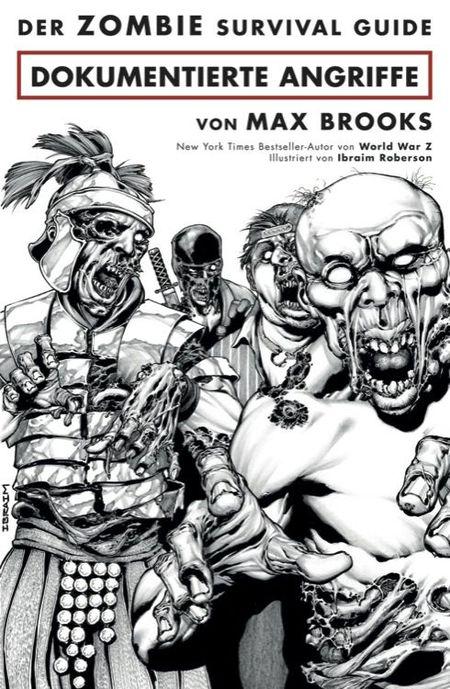 Der Zombie Survival Guide: Dokumentierte Angriffe - Das Cover