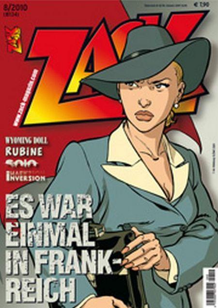 ZACK 134 (Nr. 08/2010) - Das Cover