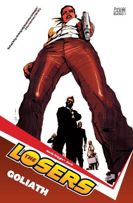 The Losers 1 (von 5): Goliath - Das Cover