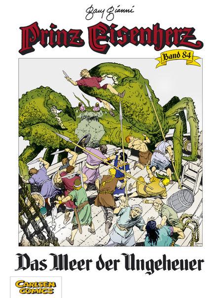 Prinz Eisenherz 84: Das Meer der Ungeheuer - Das Cover