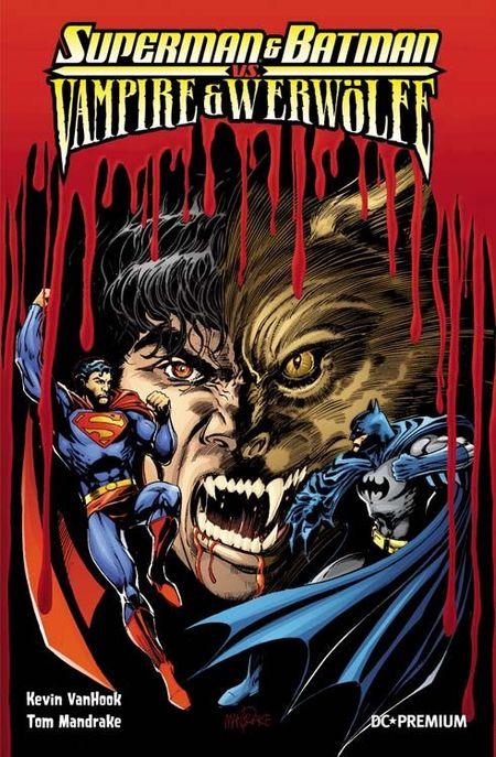 DC Premium 67: Batman & Superman vs. Vampire & Werwölfe SC - Das Cover