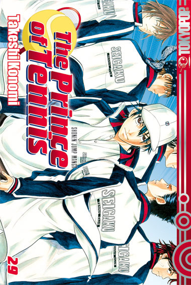 The Prince of Tennis 29 - Das Cover