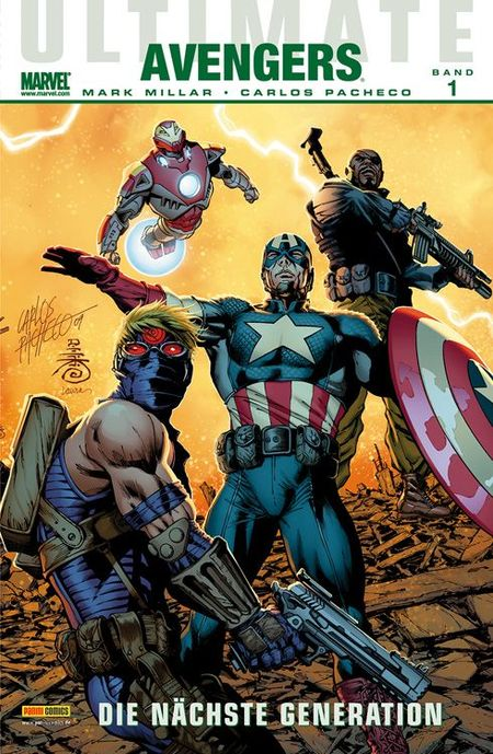 Ultimate Avengers – Die nächste Generation – Band 1 - Das Cover