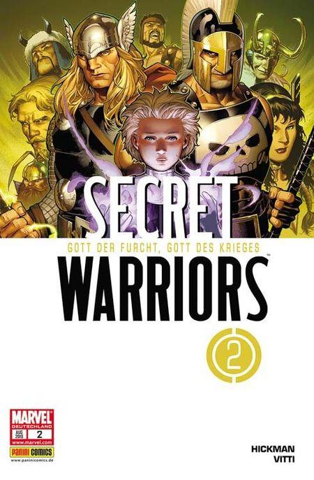 Secret Warriors 2: Gott der Furcht, Gott des Krieges - Das Cover