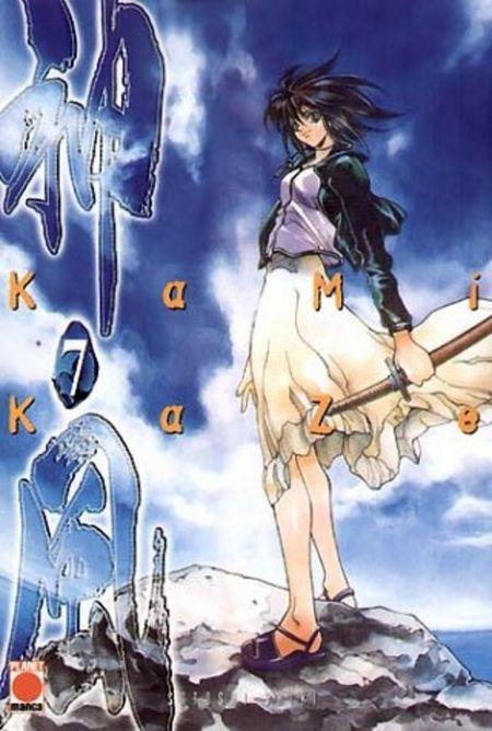 Kamikaze 7 - Das Cover