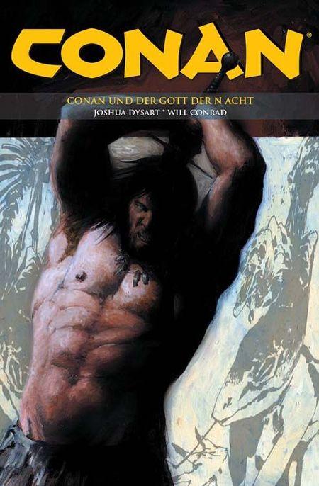 Conan 13: Conan und der Gott der Nacht - Das Cover