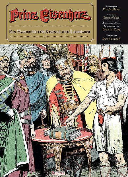 Prinz Eisenherz: Ein Handbuch für Kenner und Liebhaber - Das Cover