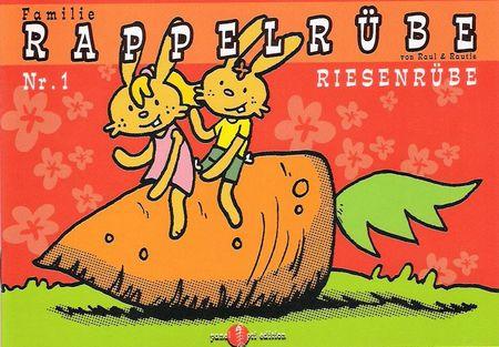 Familie Rappelrübe 1: Riesenrübe - Das Cover