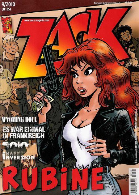ZACK 135 (Nr. 09/2010) - Das Cover
