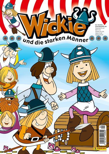 Wickie und die starken Männer 04/2010 - Das Cover