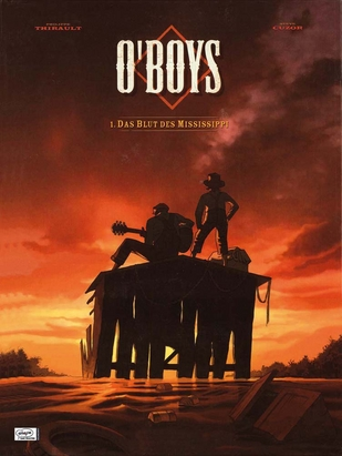 O'Boys1: Das Blut des Mississippi - Das Cover
