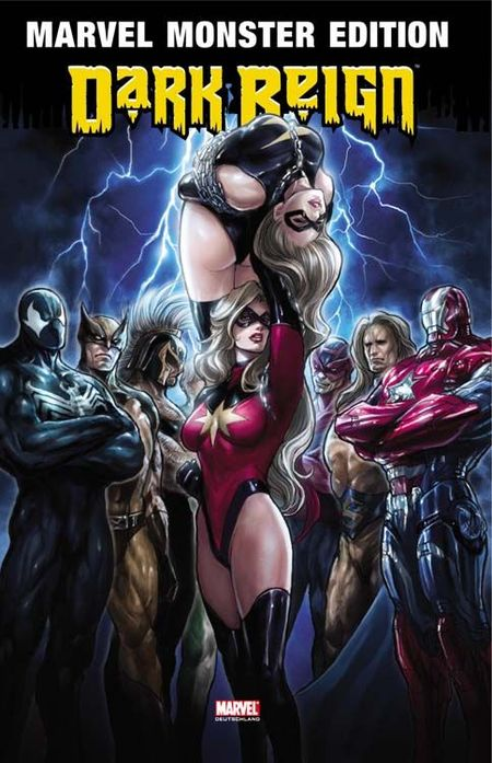 Marvel Monster Edition 36: Dark Reign 3 - Das Cover