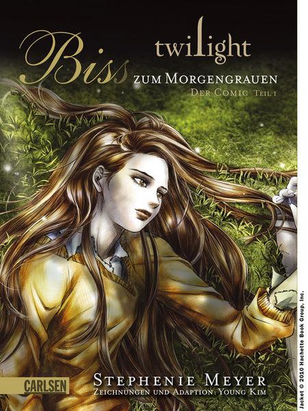 Twilight: Biss zum Morgengrauen: Der Comic Teil 1 - Das Cover