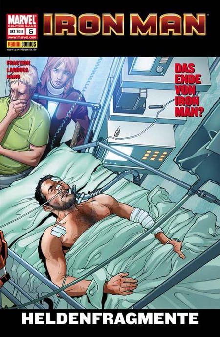 Iron Man 5: Heldenfragmente - Das Cover
