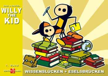 Willy The Kid 1: Wissenslücken + Eselsbrücken - Das Cover