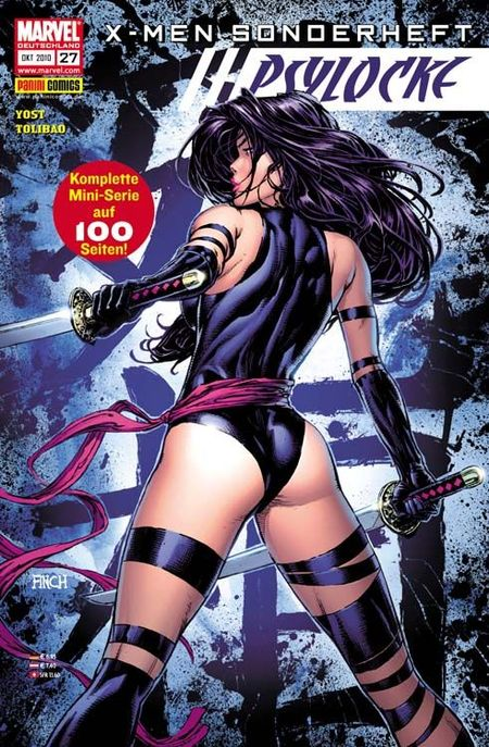 X-Men Sonderheft 27: Psylocke - Das Cover