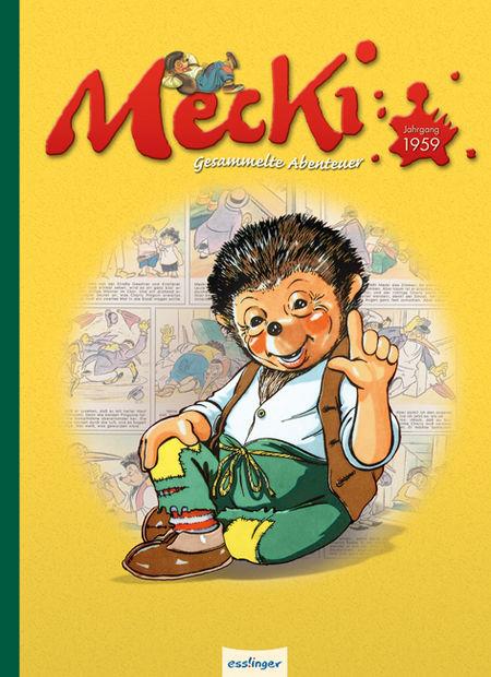 Mecki Gesammelte Abenteuer 2: Jahrgang 1959 - Das Cover