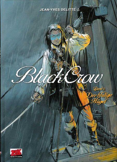 Black Crow 1: Der blutige Hügel - Das Cover