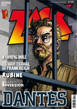ZACK 136 (Nr. 10/2010) - Das Cover