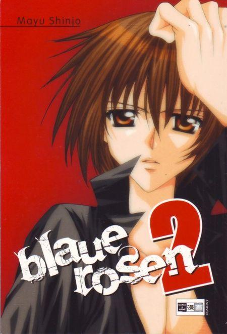 Blaue Rosen 2 - Das Cover