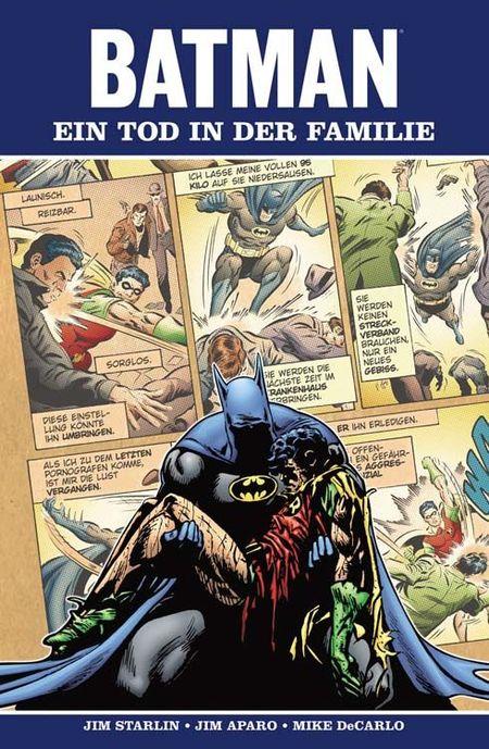 Batman: Ein Tod in der Familie - Das Cover