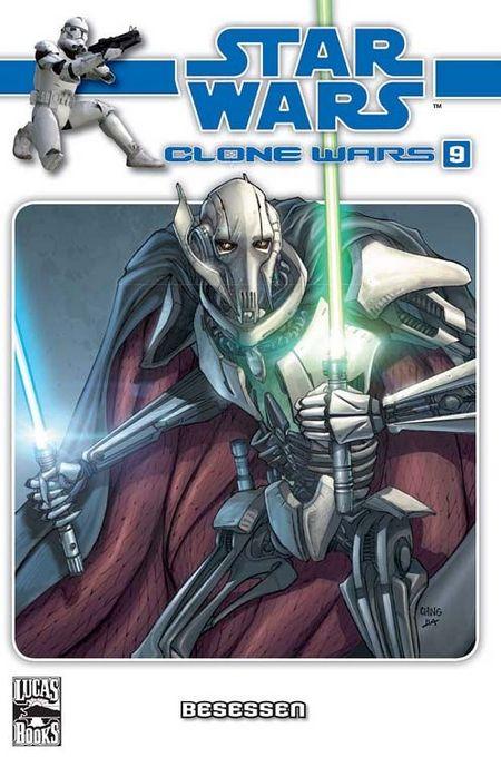 Star Wars: Clone Wars 9: Besessen - Das Cover