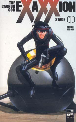 Exaxxion - The Cannon God 1 - Das Cover
