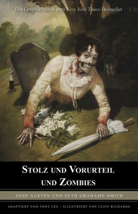 Stolz und Vorurteil und Zombies - Das Cover