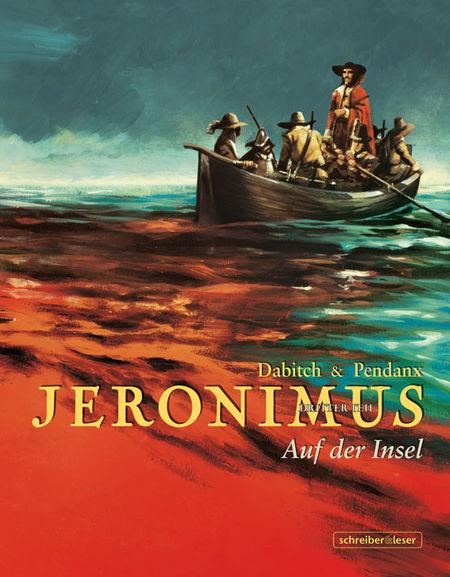 Jeronimus 3: Auf der Insel - Das Cover