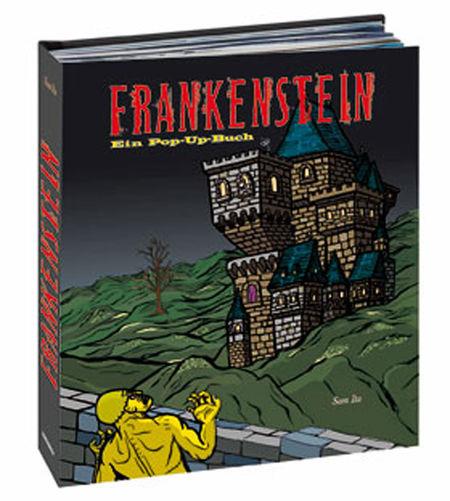 Frankenstein. Ein Pop-Up-Buch - Das Cover