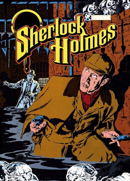 Sherlock Holmes 10: Der Flottenvertrag - Das Cover