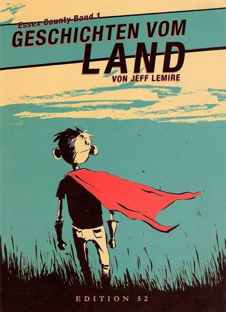 Essex County 1: Geschichten vom Land - Das Cover