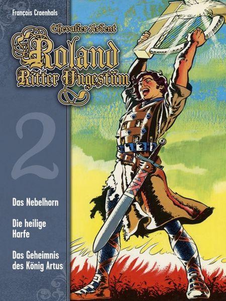 Roland, Ritter Ungestüm 2 - Das Cover