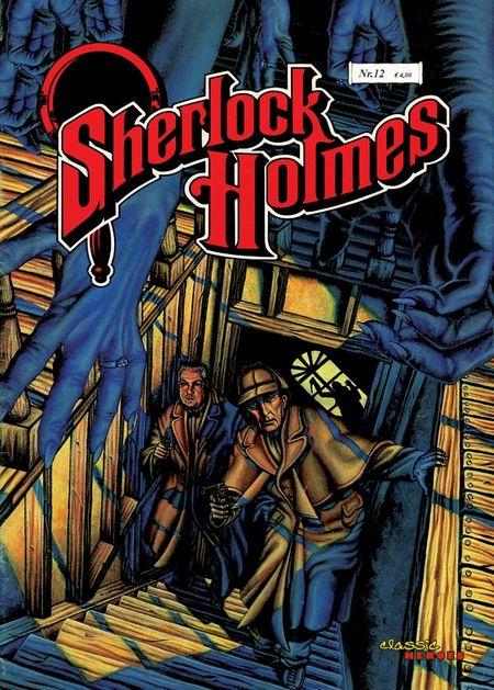 Sherlock Holmes 12: Die Legende des unheimlichen Wurdalak - Das Cover