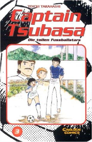Captain Tsubasa - Die tollen Fussballstars 3 - Das Cover