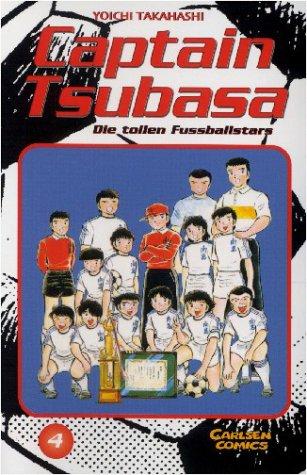 Captain Tsubasa - Die tollen Fussballstars 4 - Das Cover