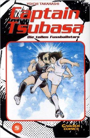 Captain Tsubasa - Die tollen Fussballstars 5 - Das Cover